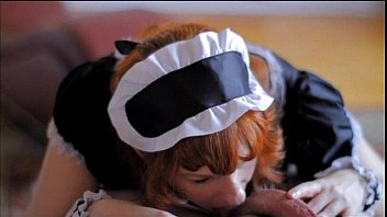 Teaser: French Maid Cock Sucking & Facial