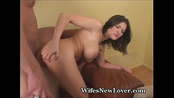 NYMPHO WIFE SHOWS HUBBY HER CLIT PUMPED UP