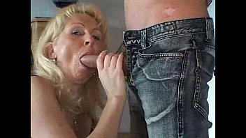 German Flex Sixpack MILF Fuck Young Boy at Birthday Party in Backroom