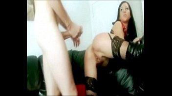 Bitch Boy Get Pegged and Tastes His Own Cum | Femdom